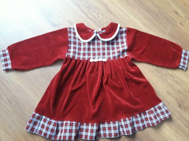 Śliczna sukienka na 116cm