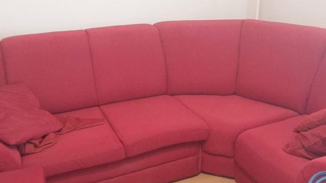 narożnik z fotelem