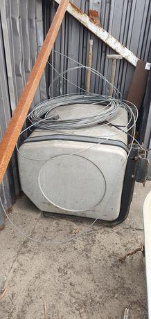 Zbiornik Aluminiowy 650 litrów