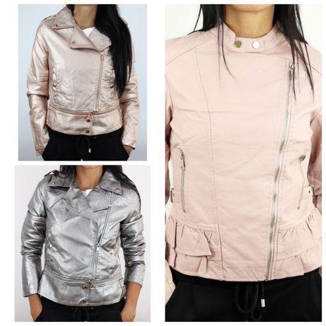 Лот курток из кожзама Monte Cervino и Honey  Winter