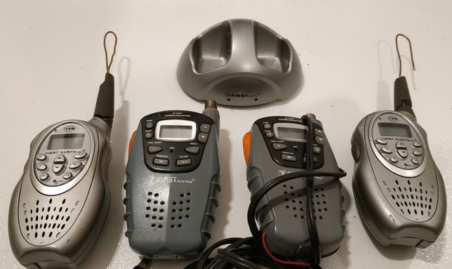 Radia PMR 446Mhz Cztery sztuki