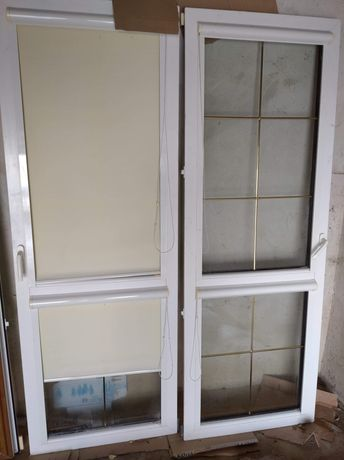Drzwi tarasowe z futryna