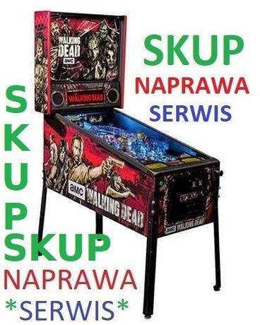 Skup-Naprawa flipper-ów / Pinball Serwis / Flipper Fliper /Automat Gry
