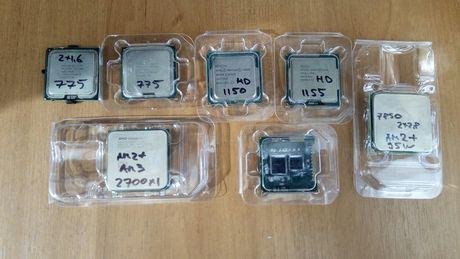 Продам процессоры сокет АМ2, АМ3, 775, 1150,1155