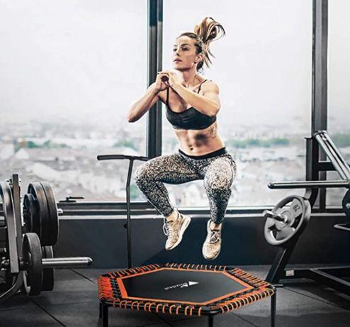 Trampolina Amzdeal 98cm trening fitness cena sklepowa 600zł