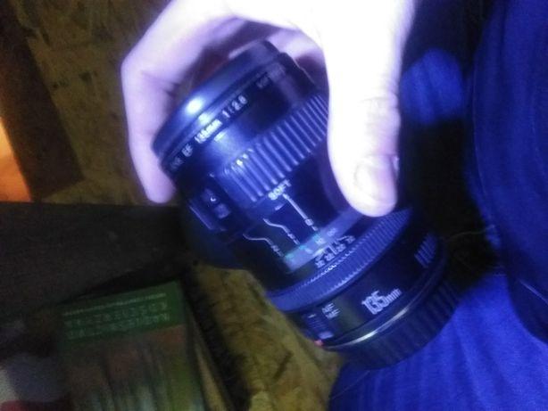 Obiektyw canon 135mm f/2.8