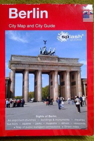 Berlin 3w1. Przewodnik Mapa Atlas Berlin w 1 dzień, w 2 dni, w 3 dni