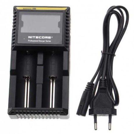 Зарядное устройство на 2 аккумулятора Nitecore D2 зарядний пристрій