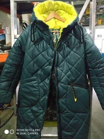 Пуховик (куртка женская) 44-46, теплая