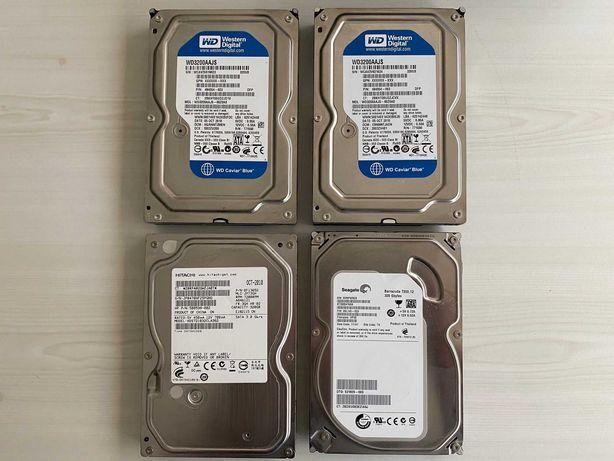 Lote Disco Rigido HDD Western Digital, Seagate e Hitachi