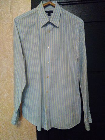 Рубашки мужские 2 шт размер (42,43)