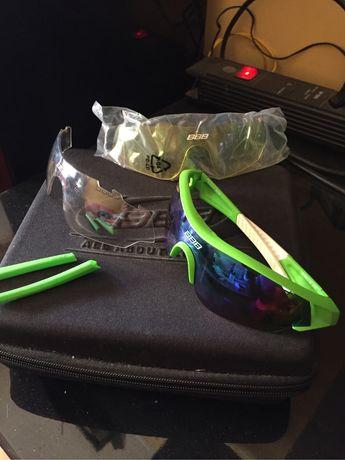 Oculos BBB com tres lentes