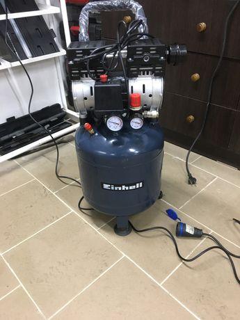 Безшумний без масляний  компрессор Einhell TE-AC 24 Silent з Германії