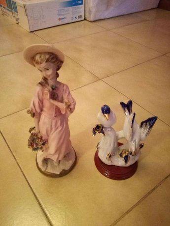 Conjunto de 2 peças em Porcelana - NOVOS - FECHO DE LOJA