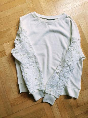 Nowa bluza Shein koronkowe ramiona r. XS/S/M