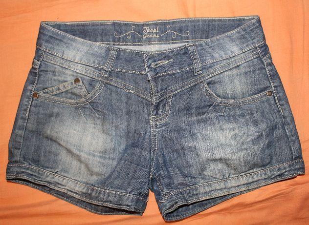 spodenki jeansowe,dżinsowe, S/M,krótkie,lato,rozm 27