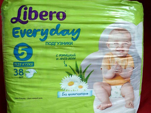 Подгузники Libero Everyday 5 11-25 кг, 38шт