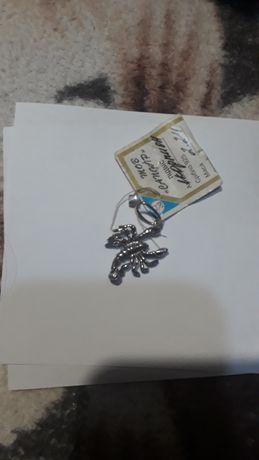 Кулон скорпион 925 проба