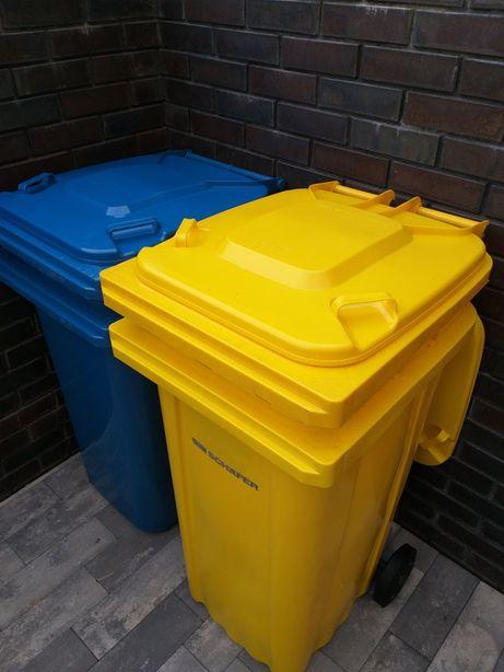 Kosz na odpady,pojemnik na śmieci, kontener 240 l.Nowy.Wysyłka gratis.