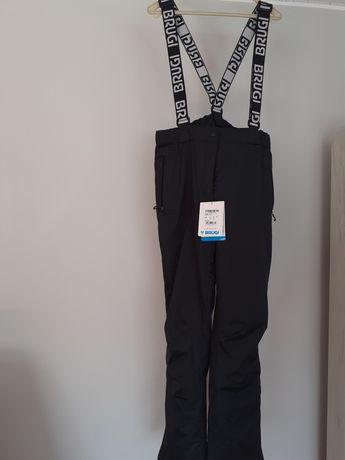 Spodnie narciarskie damskie nowe Brugi