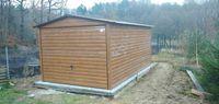 Garaż 3x6 złoty dąb, drewnopodobny, garaże blaszane 3x5,4x6,producent