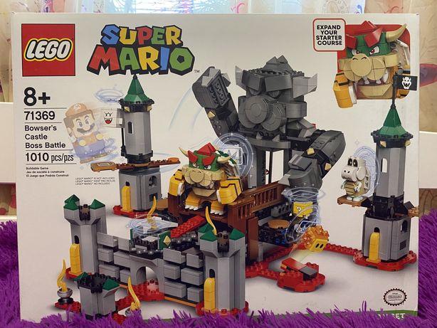 LEGO Super Mario Битва с босом в замке Боузера 71369