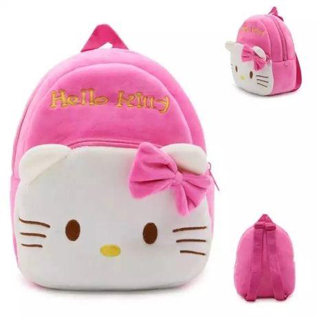 Милый рюкзак для дошкольников девочек с мультяшным принтом «китти»