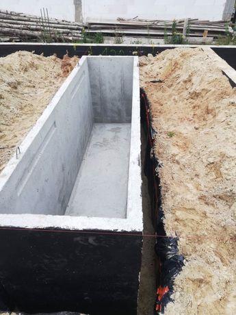 Kanał samochodowy warsztatowy garażowy przydomowy betonowy Atest PZH