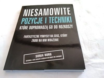 niesamowite pozycje i techniki które... książka +18 prezent na 18