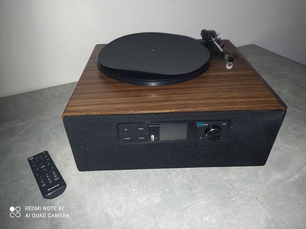 Connect Vinyl Cube, gramofon, internet/ DAB+/ UKF, USB, 40 W maks., br