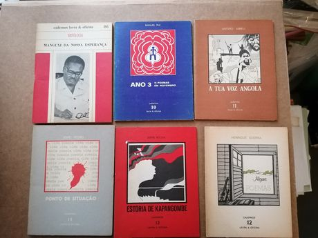 Lote 14 livros poesia AFRICANA edições originais 1 edições