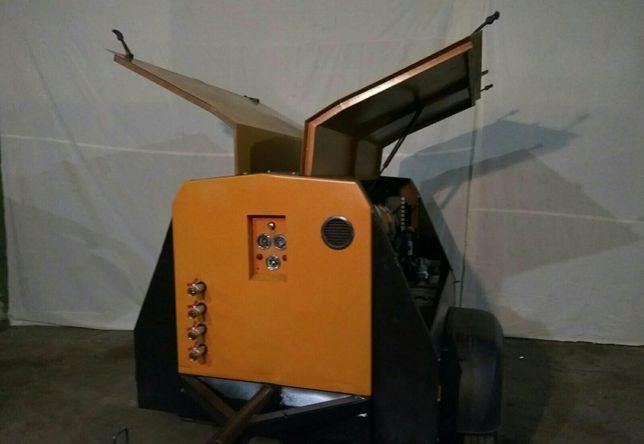Компрессор винтовой 5 м3, передвижной дизельный