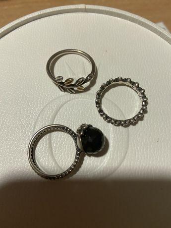 Перстень пандора кольцо pandora 54