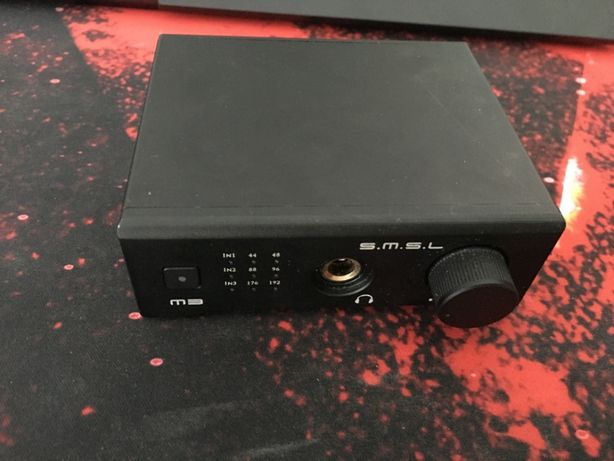 Wzmacniacz Słuchawkowy SMSL M3