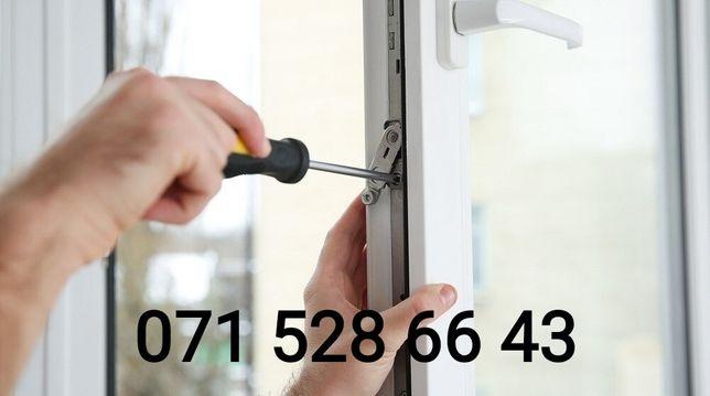 Ремонт.Регулировка окон и дверей. Замена уплотнителя.