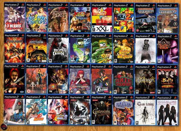 [PS2] 265 Jogos LUTA & PORRADA (Vendo à Unidade - Preços na Descrição)