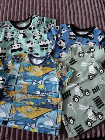 Koszulki, koszulka dla chłopca krótki rękaw rozmiar 80