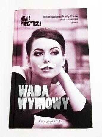 """nowa książka """"Wada wymowy"""" Agata Porczyńska"""