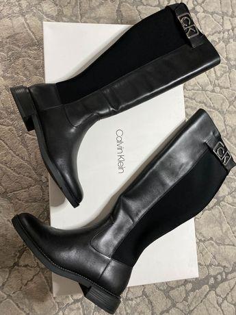 Сапоги Calvin Clein оригинал!                  H&M Michael Kors Zara