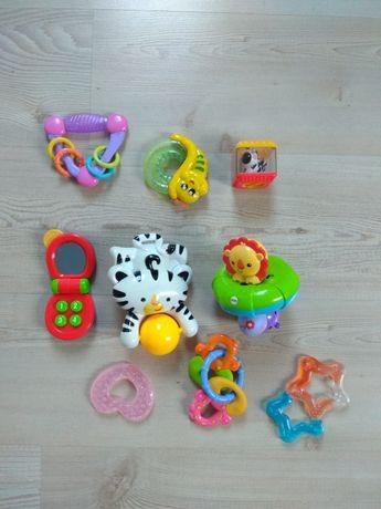 Zabawki Fisher Price, i inne 9 sztuk