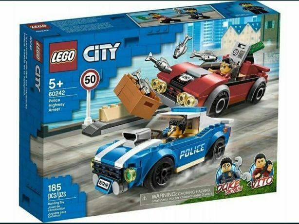 Lego. Aresztowanie na autostradzie