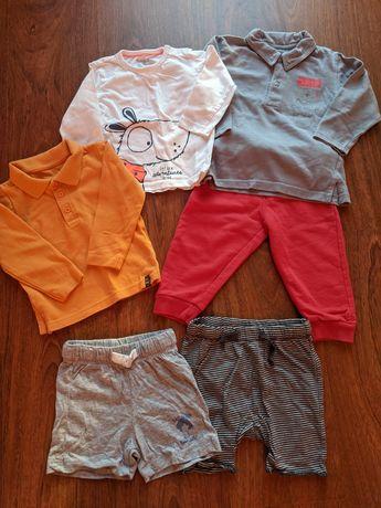 Lote roupa menino verão 12-18 meses