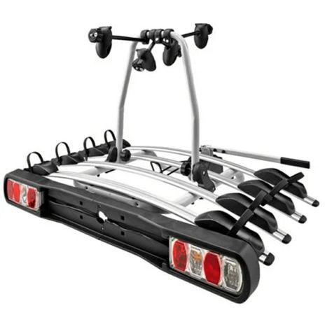 Bagaznik rowerowy, platforma na 4 rowery, uchwyt na hak