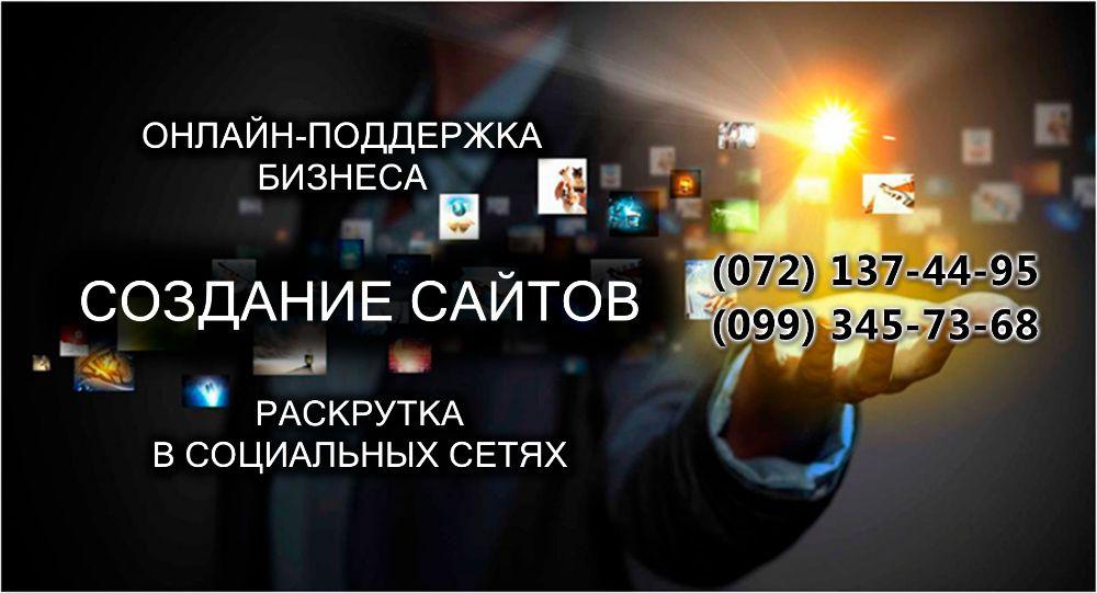 Создание и раскрутка сайтов Луганськ - зображення 1