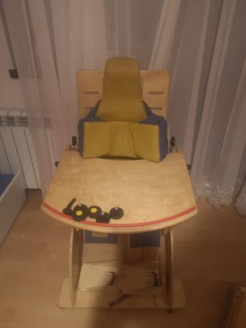 Krzesełko dla osoby niepełnosprawnej