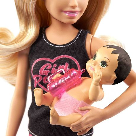 Кукла Barbie Skipper с малышем и набором аксессуаров. Оригинал.