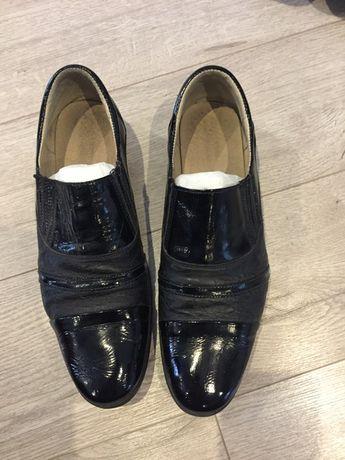 туфли на мальчика кожаные роз 38 по стельке 25.5
