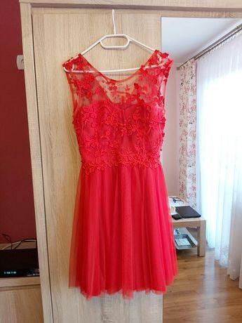 Sukienka Why Not 40 (rozmiar zawyżony, pasuje idealnie na 38)