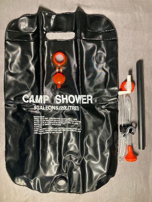 Мобильный портативный складной душ на 20 л для дачи/села Киев - изображение 1