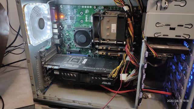 Компьютер для работы, игр.